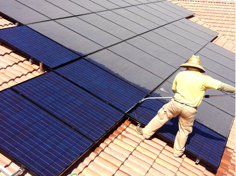 Suntech Solar Tiles And Cleaning